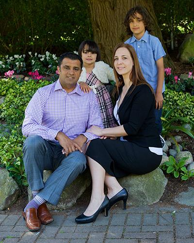 Mary Lalji Family